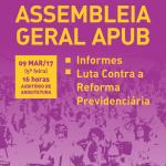 ASSEMBLEIA GERAL 9 DE MARCO DE 2017