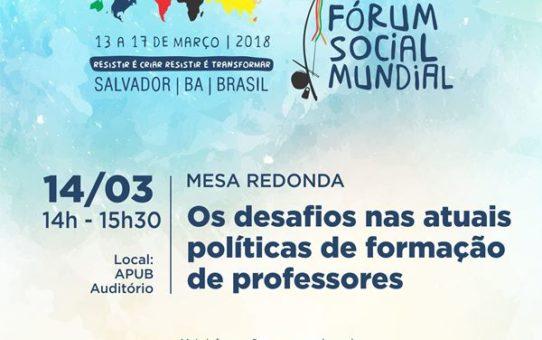 14 DE MARCO CARD FORUM SOCIAL MUNDIAL