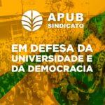 CARD EM DEFESA DA UNIVERSIDADE E DA DEMOCRACIA